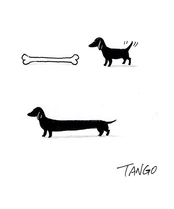 """Остроумные """"звериные"""" фантазии в различных ситуациях от художника Танго (9 картинок)"""