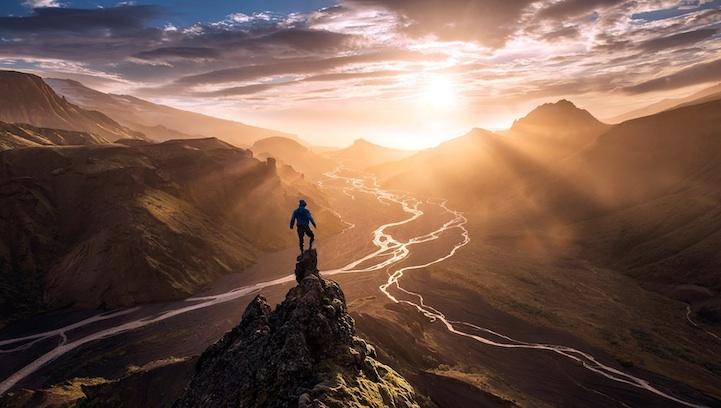 Люди и величественная природа (18 фото)