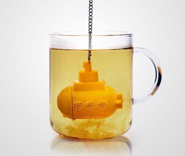 16 креативных приспособлений для любителей чая (19 фото)