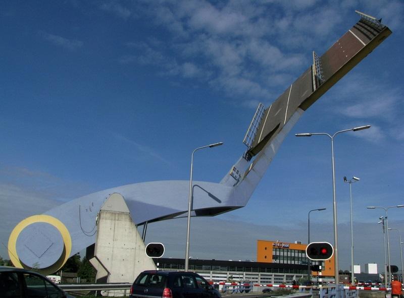"""Необычный """"Летающий мост"""" (6 фото + 1 видео)"""