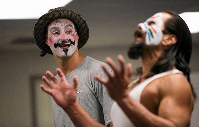 Театральный мастер-класс в тюрьме (13 фото)
