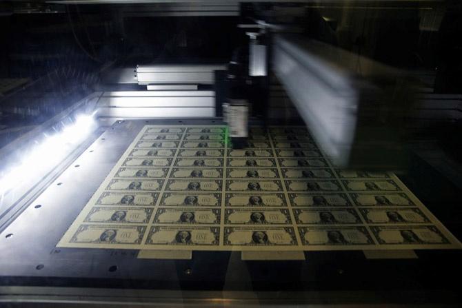 Как печатают доллары (16 фото)