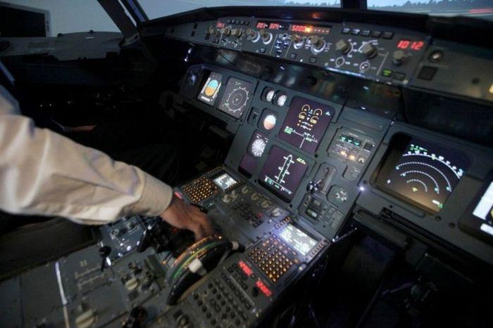 Инженер-электронщик собрал авиасимулятор (14 фото)