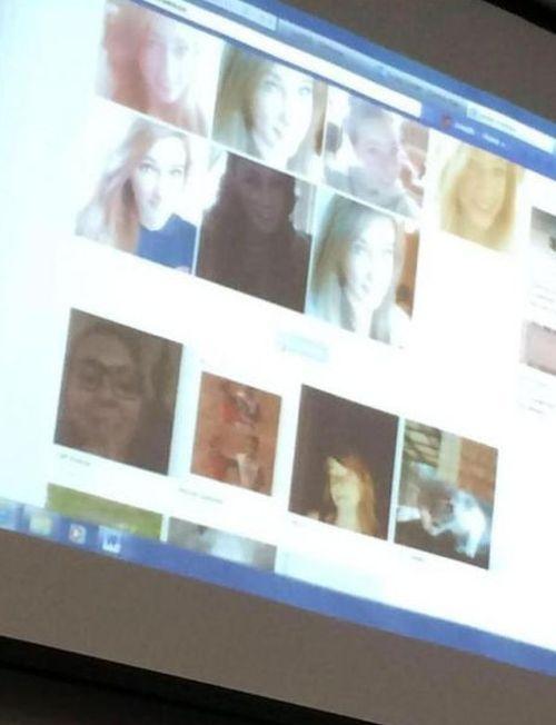 США: учитель спалился перед классом (3 фото)
