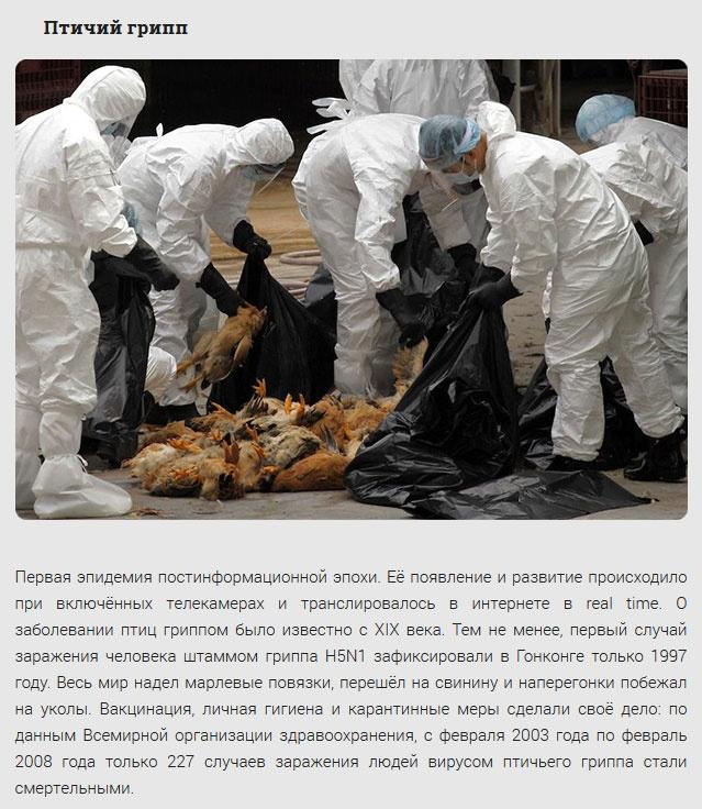 Эпидемии, с которыми приходилось бороться людям (11 фото)
