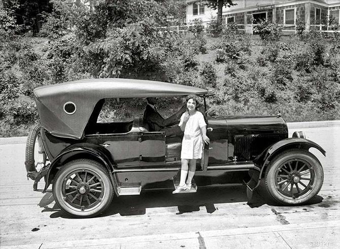 Автоледи начала XX-го века (36 фото)