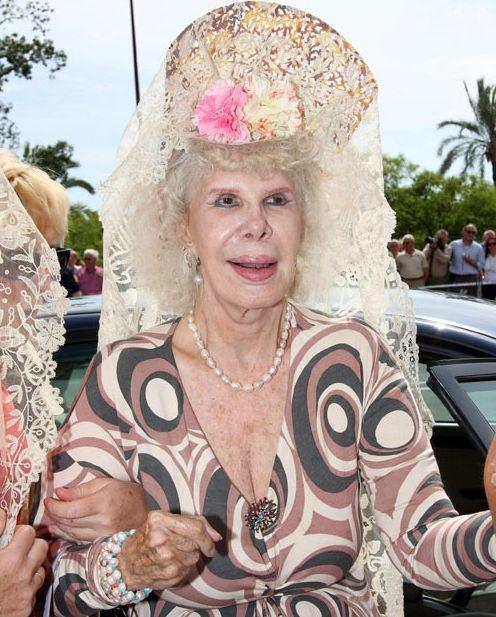 Испания: герцогиня де Альба умерла в возрасте 87-ми лет (13 фото)