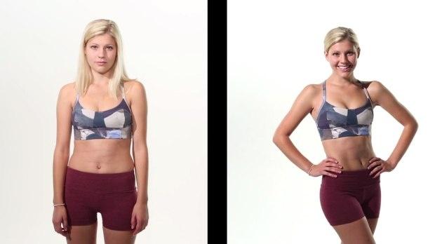 Секрет обмана фотографий «До и после сброса веса» (4 фото)