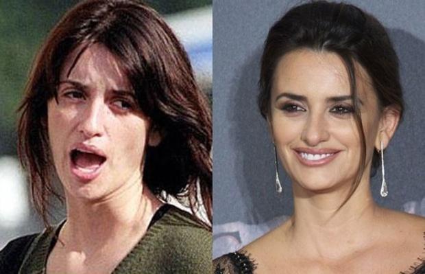 20 неожиданных фотографий самых популярных знаменитостей без макияжа