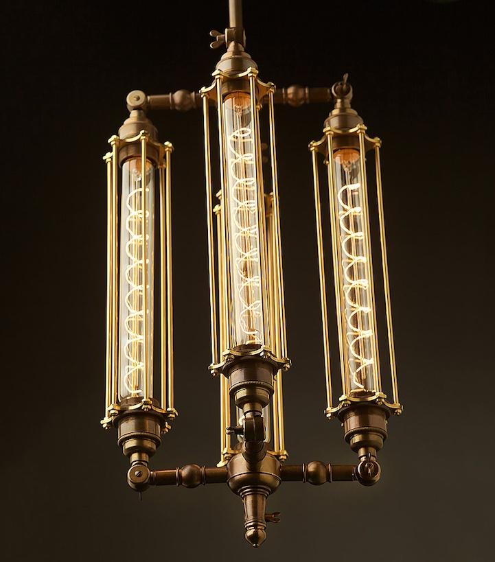 Светильники в псевдо-викторианском стиле (9 фото)