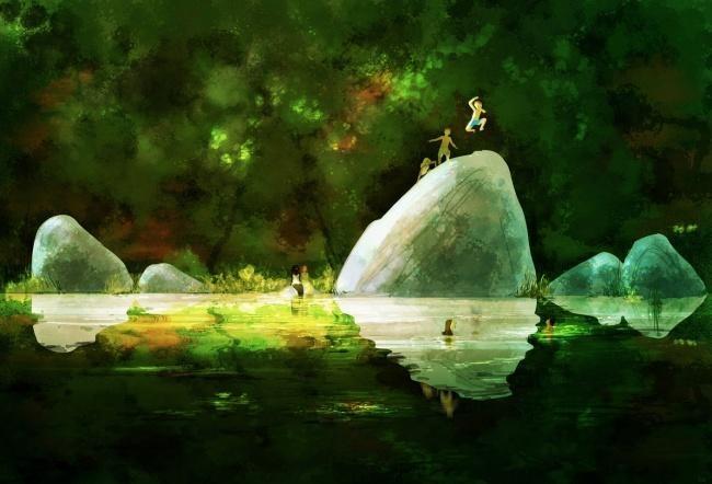 Художник, который рисует счастье (20 картинок)