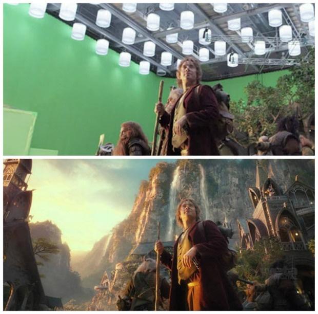 Как делают спецэффекты в кино (39 фото)