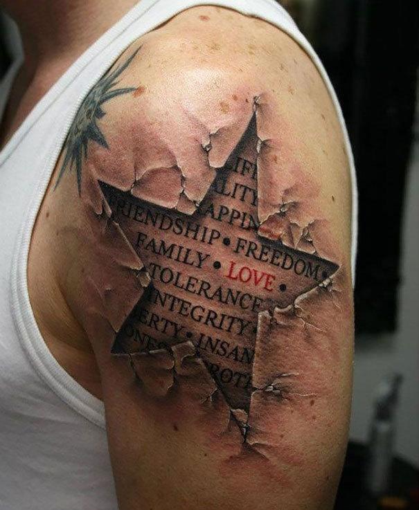 3D татуировки (20 фото)