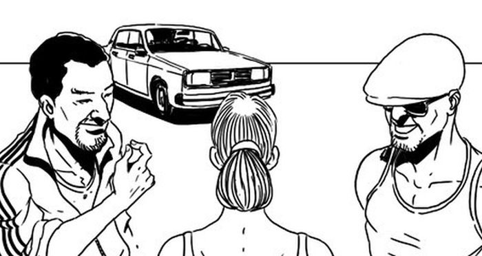 Социальный эксперимент на проверку жадности таксистов (5 скриншотов)