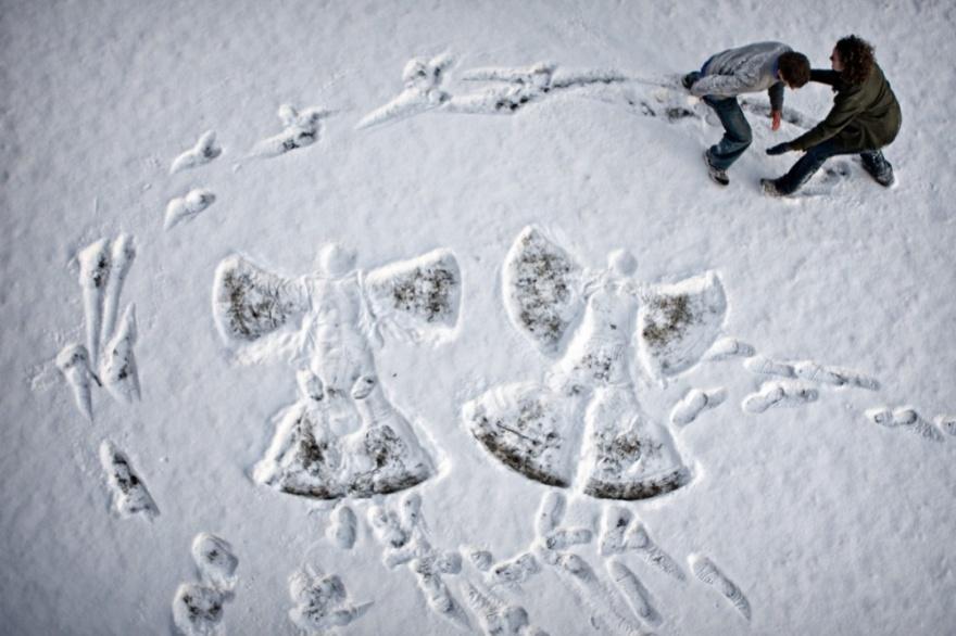 Топ фотографий, после которых вы полюбите снег (19 фото)