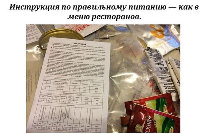Рацион бойцов спецназа ФСБ в походных условиях (13 фото)