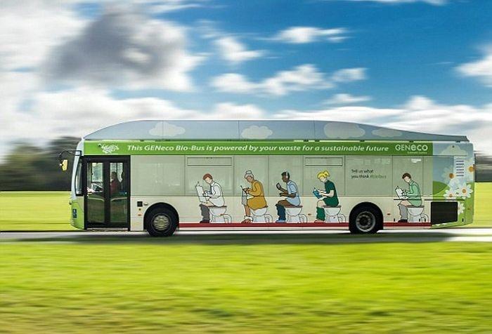 Этому автобусу нужны фекалии (5 фото)
