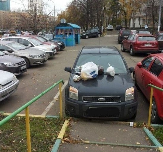 Автомобильные приколы от 03.12.2014 (25 фото)