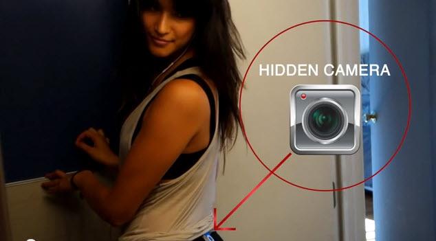 Скрытая камера в леггинсах или сколько людей способно посмотреть на вашу задницу за время короткой прогулки (1 фото + 1 видео)