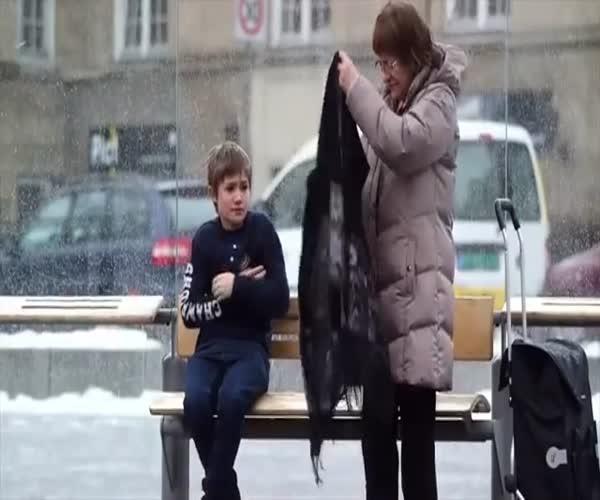 Социальный эксперимент в России (1 видео)