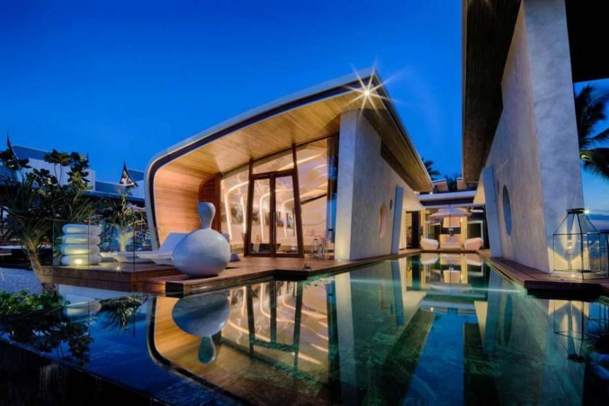 Ультрасовременный отель в Таиланде (12 фото)