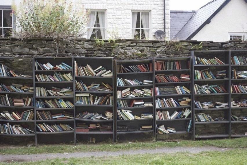 Книжный город Хэй-он-Уай (20 фото)