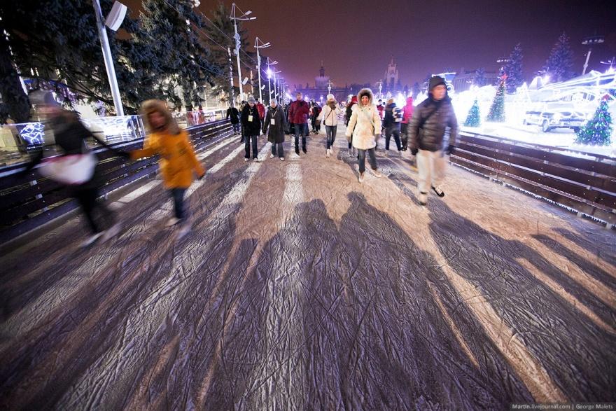 Самый большой искусственный каток в мире (25 фото)
