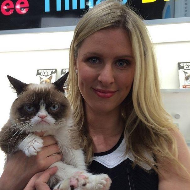 Известная в сети Grumpy Cat заработала 100 миллионов за 2 года (20 фото)