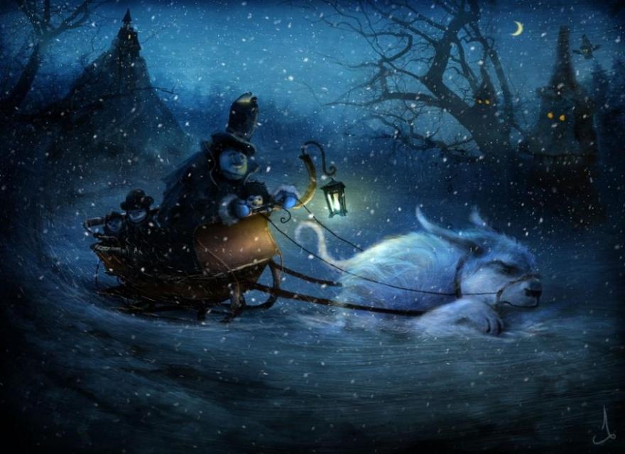 Скандинавские сказки (20 фото)
