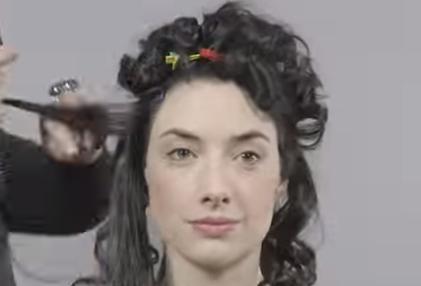 100 лет красоты за 1 минуту (1 видео)