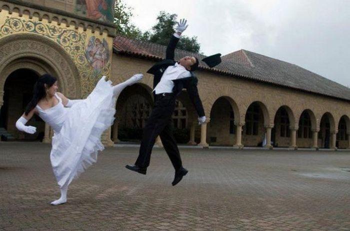 На свадьбе всегда весело! (16 фото)