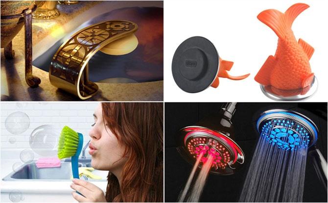 18 самых креативных аксессуаров для ванны и туалета (20 фото)
