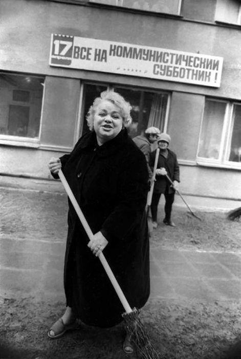 Неизвестные фото советских знаменитостей (50 фото)