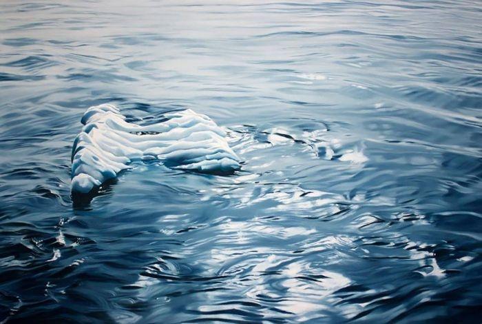 Удивительно реалистичные картины американской художницы Зарии Форман (11 фото)