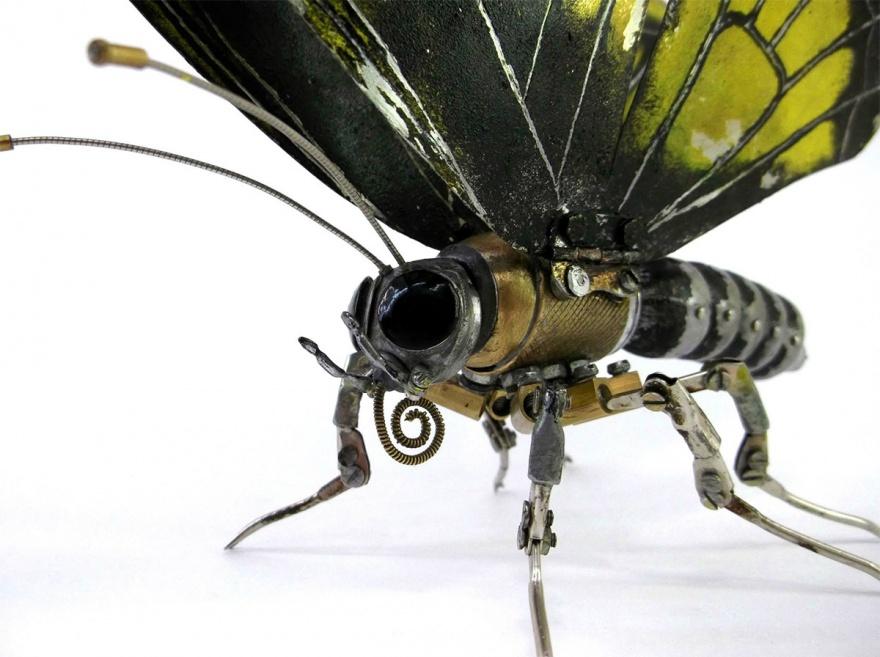 Стимпанк-модели, объединившие механику и природу (10 фото)