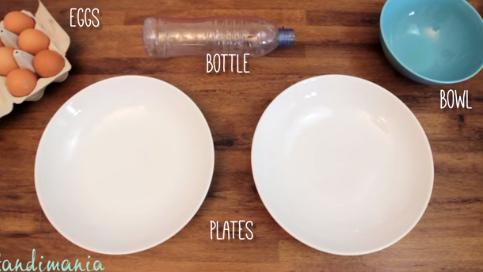 Как отделить желток от белка за 30 секунд (1 фото + 1 видео)