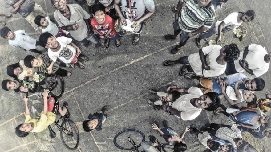 Лучшие фотографии с дронов 2014 (18 фото)