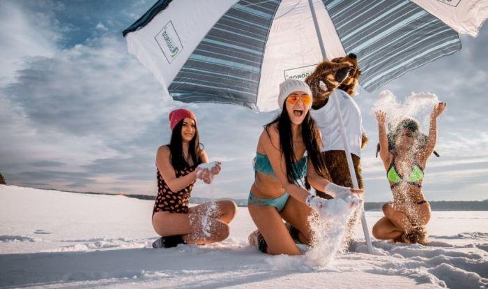 Девушки Сибири приняли участие в фотопроекте по привлечению туристов в регион (9 фото)