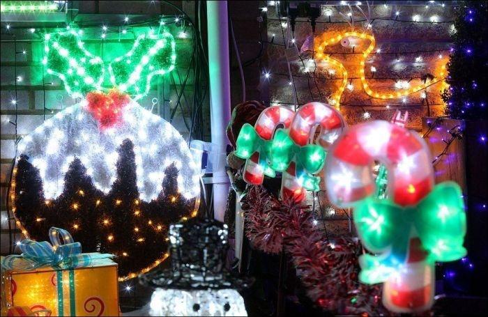 Великобритания: рождественская сказка на одной из улиц графства Хэмпшир(16 фото)