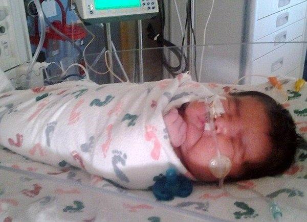 Новорожденная весом более 6 кг (4 фото)