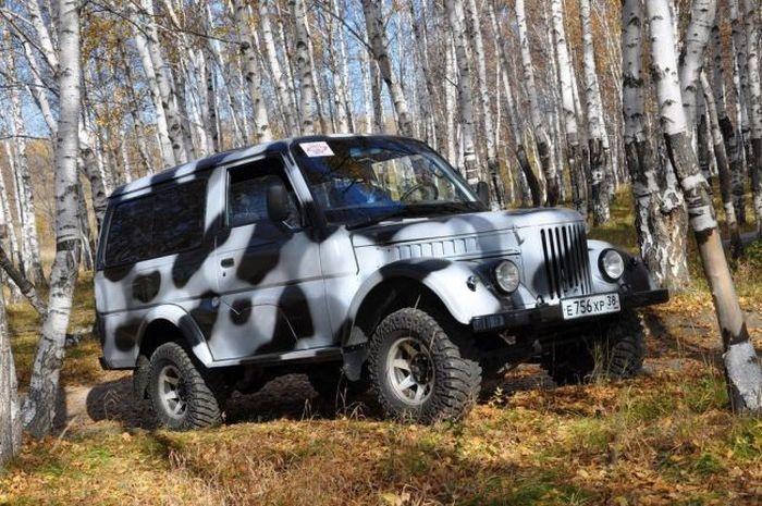 Уникальный внедорожник в стиле ГАЗ-69 своими руками (39 фото)