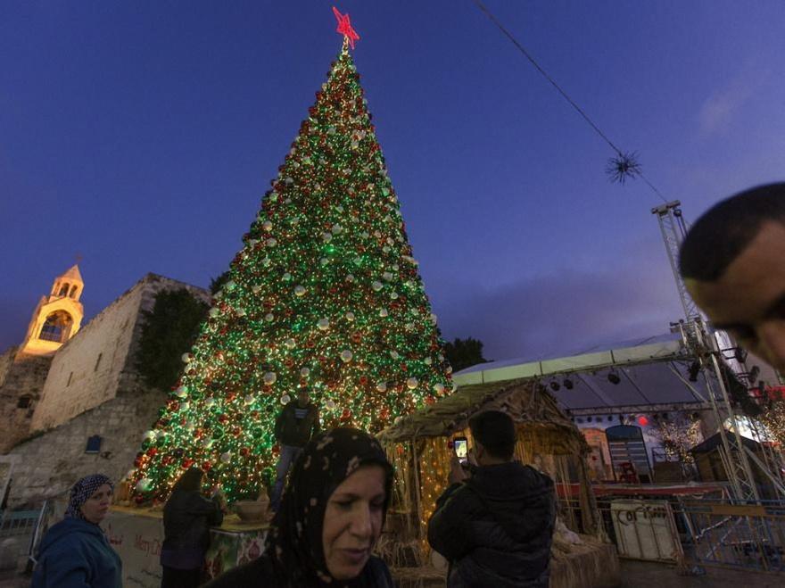 Базилика Рождества Христова в Вифлееме (8 фото)