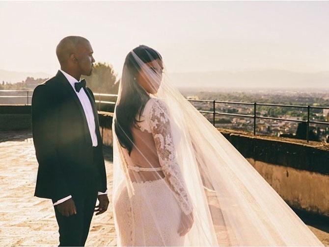 Знаменитые свадьбы уходящего 2014 года (14 фото)