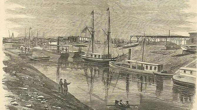 История Cуэцкого канала (21 фото)