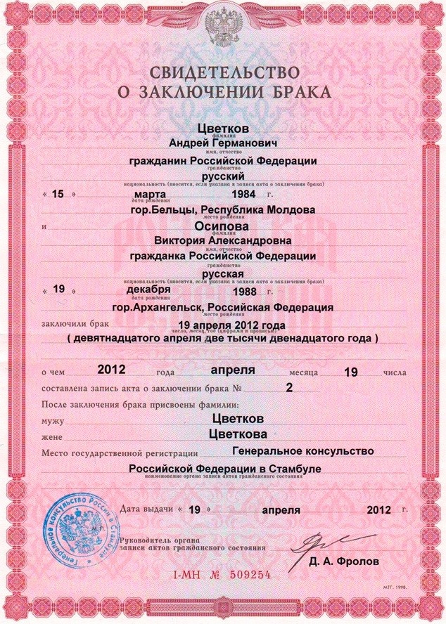 Специфика профессии работников ЗАГСа (5 фото)