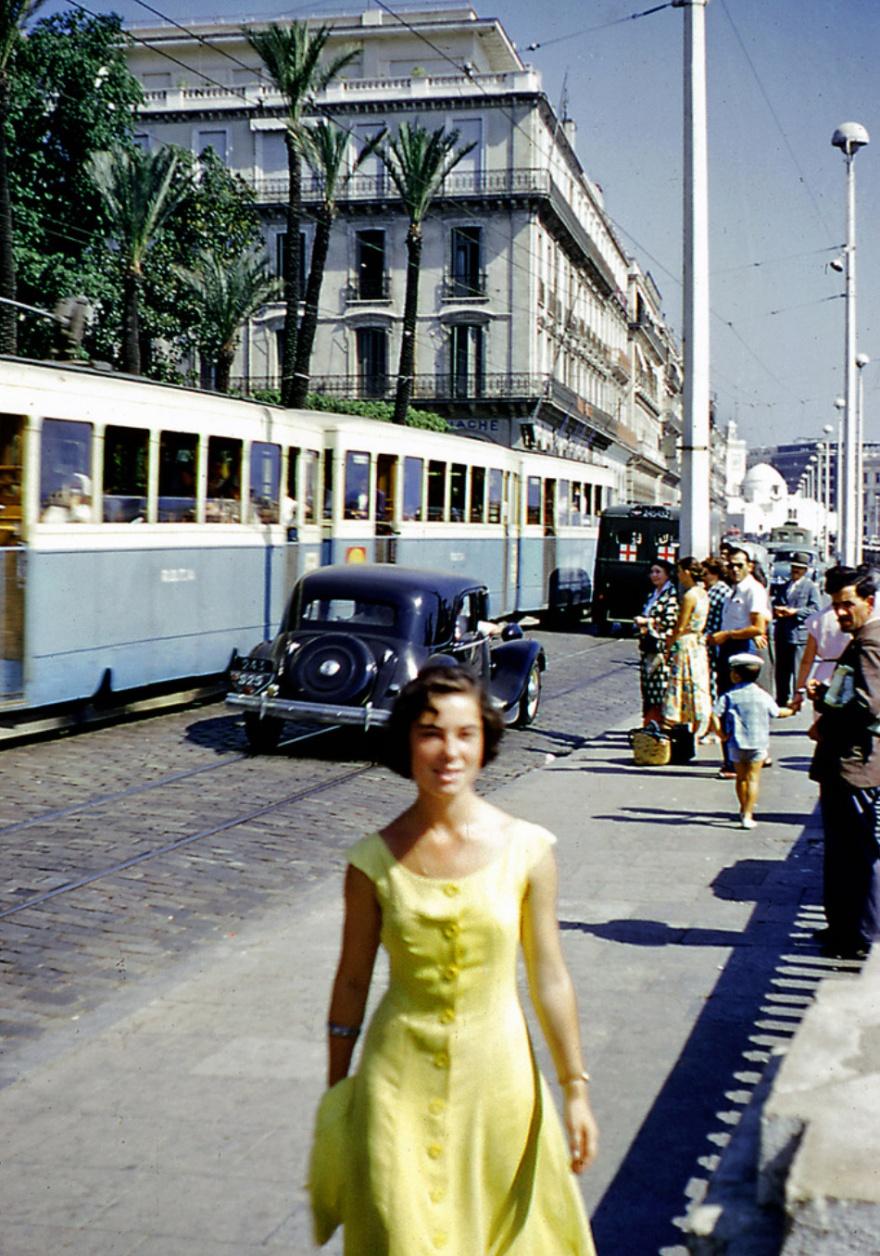 1954 год в цвете (30 фото)