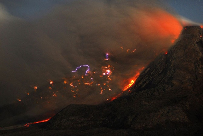 Вулканическая активность в 2014 году (39 фото)