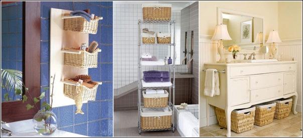 Лайфхак: идеи для ванной комнаты (12 фото)