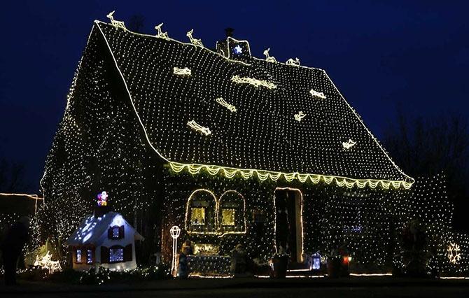 Как выглядит мир перед Новым годом и Рождеством (28 фото)