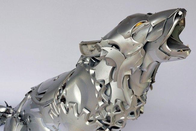 Металлические скульптуры Птолемея Элрингтона (10 фото)